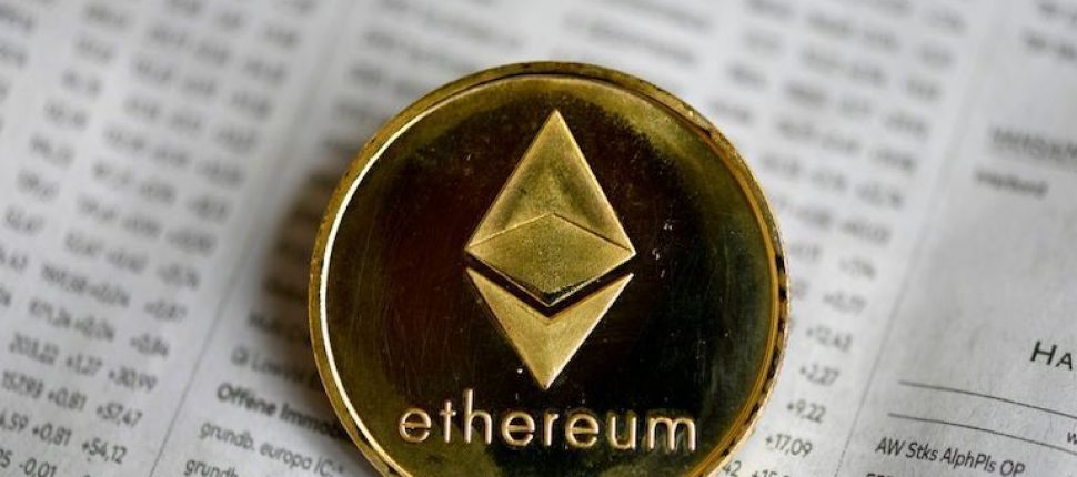 Physical Ethereum Coin