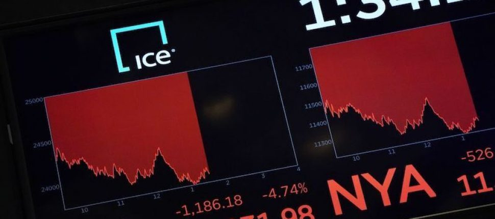 Dow Jones Industrial crash