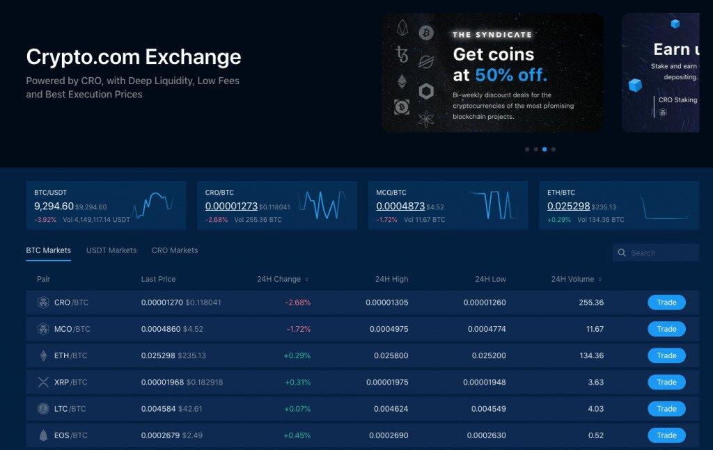 Crypto.com Exchange