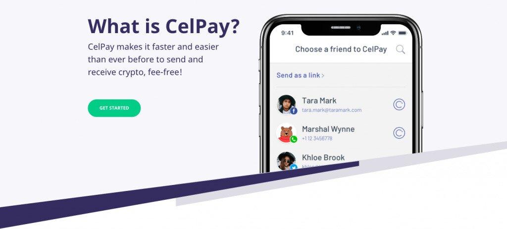 Celsius Network CelPay Screenshot