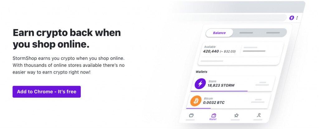 StormShop Homepage