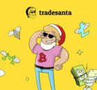 Trade Santa logo with Trade Santa caricatures