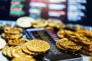 Pile of Bitcoin indicating Richest