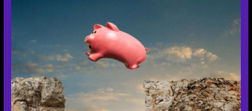 Piggy Bank Jumping Cliffs
